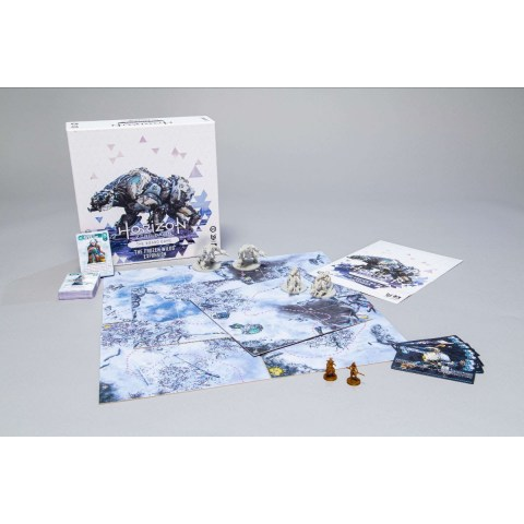 Horizon Zero Dawn: The Board Game – The Frozen Wilds Expansion (2021) - разширение за настолна игра