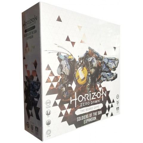 Horizon Zero Dawn: The Board Game – Soldiers of the Sun Expansion (2021) - разширение за настолна игра