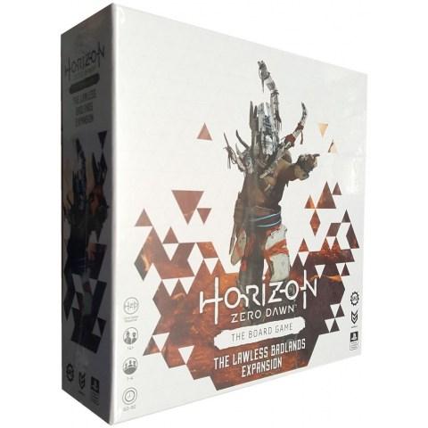 Horizon Zero Dawn: The Board Game – Lawless Badlands Expansion (2021) - разширение за настолна игра