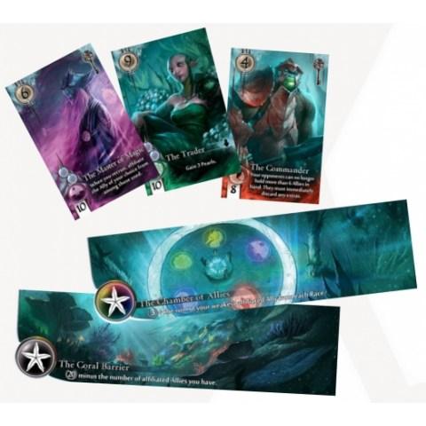 Abyss (2014) - настолна игра с карти