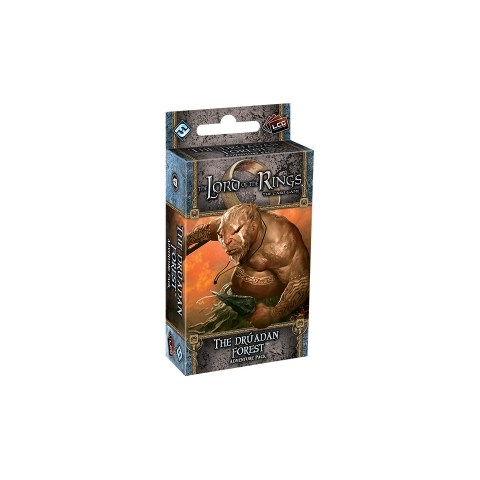 The Lord of the Rings LCG: Against the Shadow Cycle - The Drúadan Forest Adventure Pack Board Game