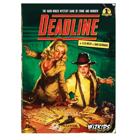 Deadline (2017) Board Game