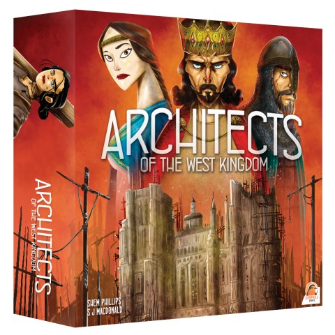 Architects of the West Kingdom (2018) Board Game