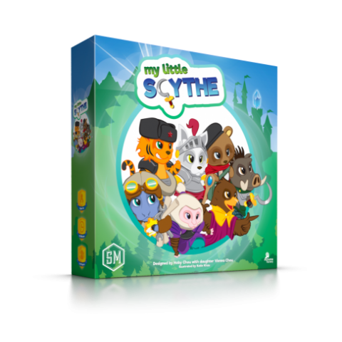 My Little Scythe (2017) - настолна игра
